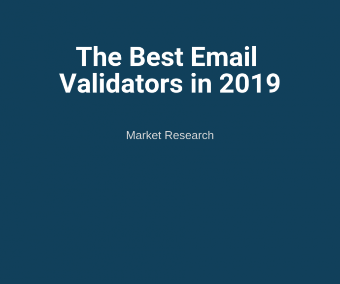 The Best Email Validators in 2019: Top 3 Email Address Checkers