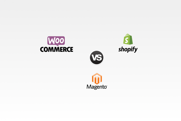 Shopify vs. Magento vs. WooCommerce