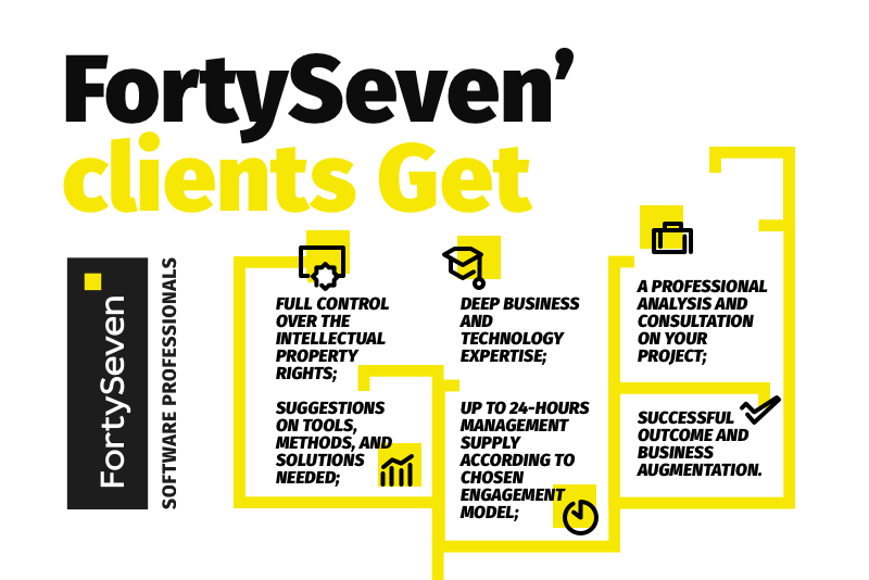 FortySeven IT outstaffing - what clients get